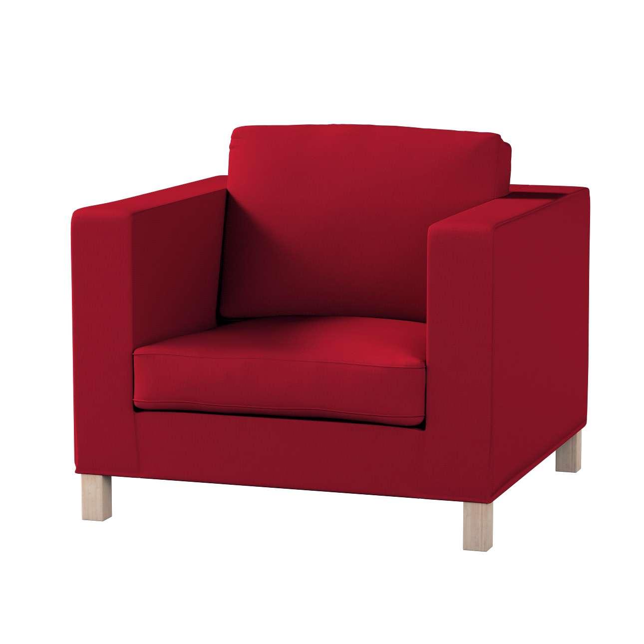 Pokrowiec na fotel Karlanda, krótki fotel Karlanda w kolekcji Etna , tkanina: 705-60