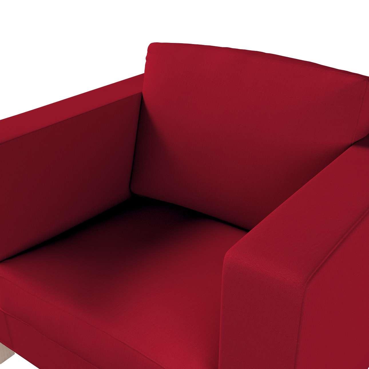 Pokrowiec na fotel Karlanda, krótki w kolekcji Etna, tkanina: 705-60