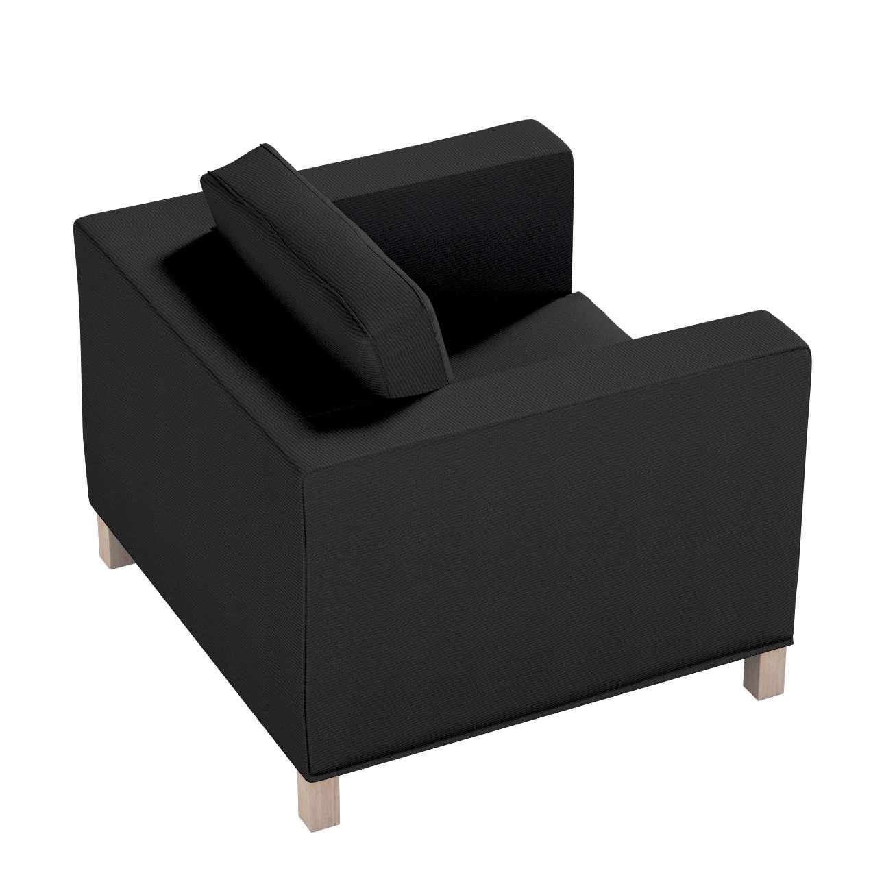 Pokrowiec na fotel Karlanda, krótki w kolekcji Etna, tkanina: 705-00