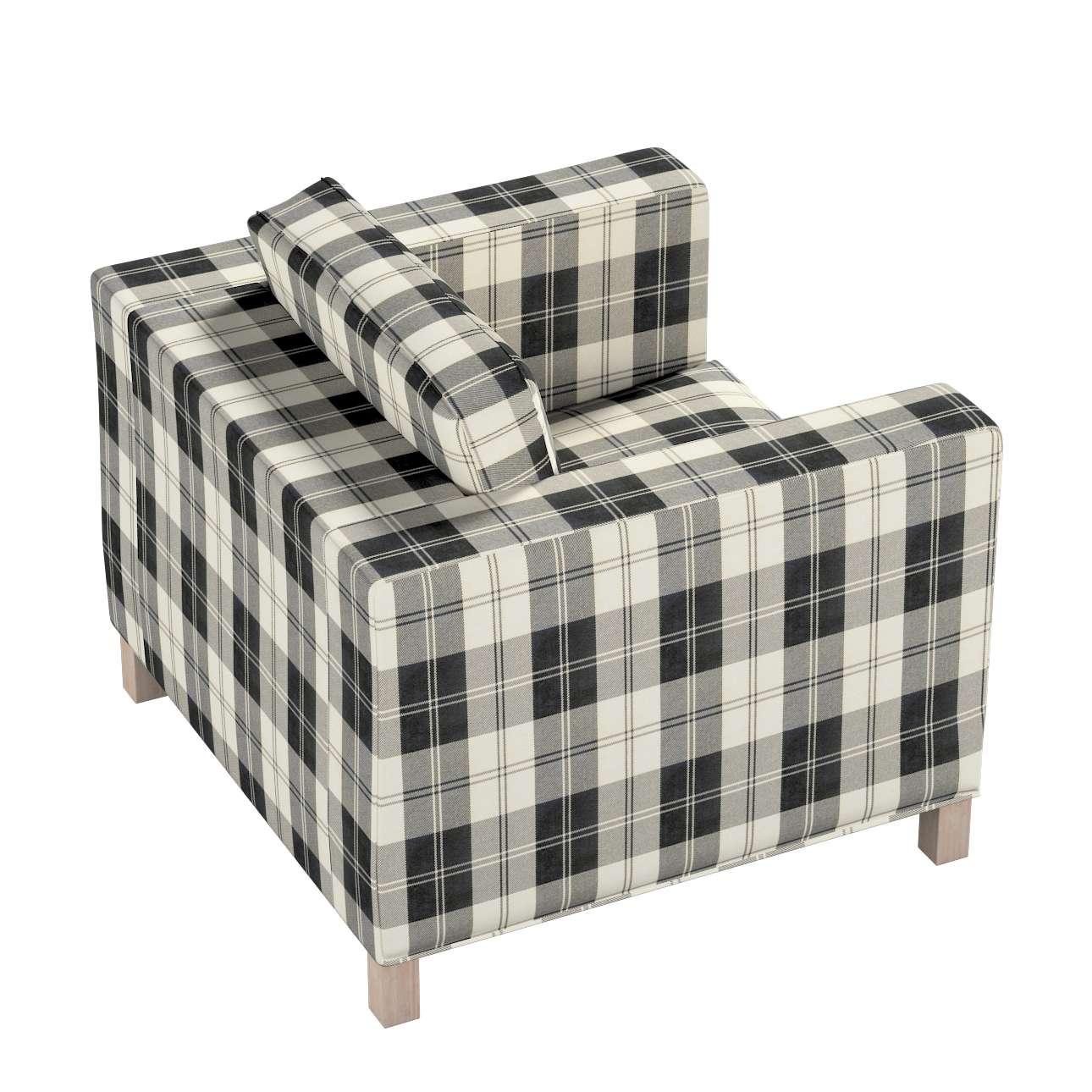 Potah na křesko IKEA Karlanda, krátký v kolekci Edinburgh, látka: 115-74