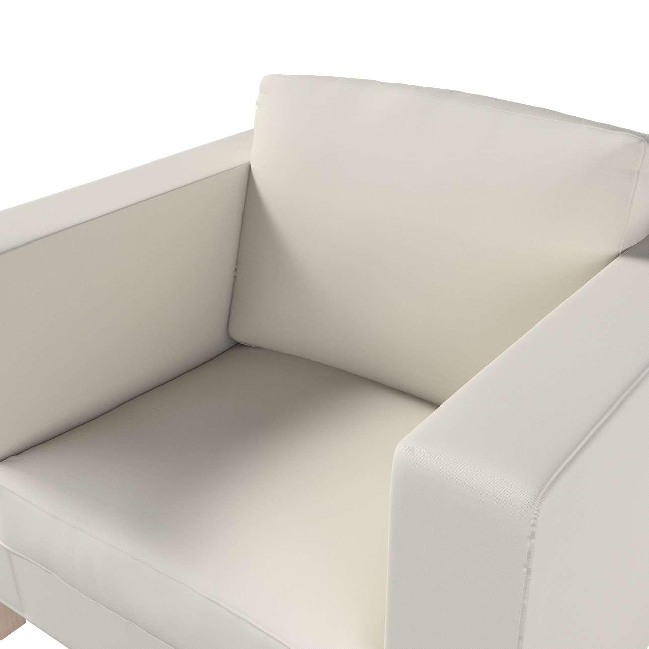 Karlanda fotelhuzat rövid a kollekcióból Cotton Panama Bútorszövet, Dekoranyag: 702-31