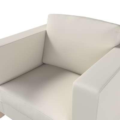 Bezug für Karlanda Sessel, kurz von der Kollektion Cotton Panama, Stoff: 702-31