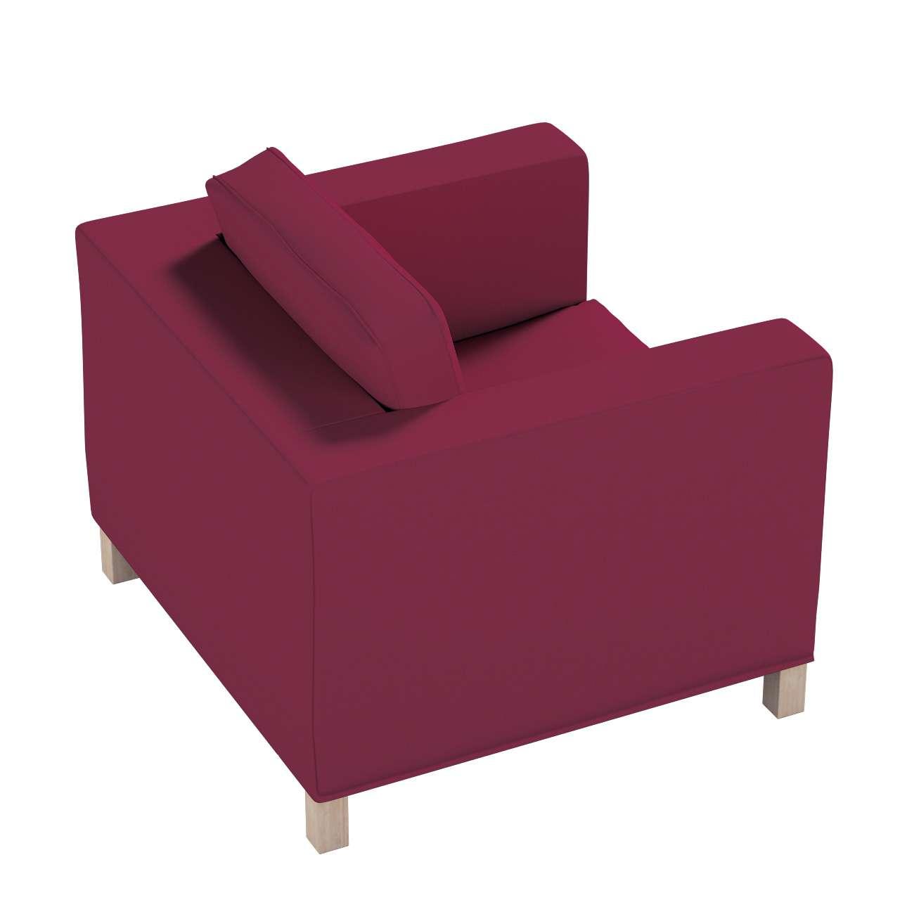 Potah na křesko IKEA Karlanda, krátký v kolekci Cotton Panama, látka: 702-32