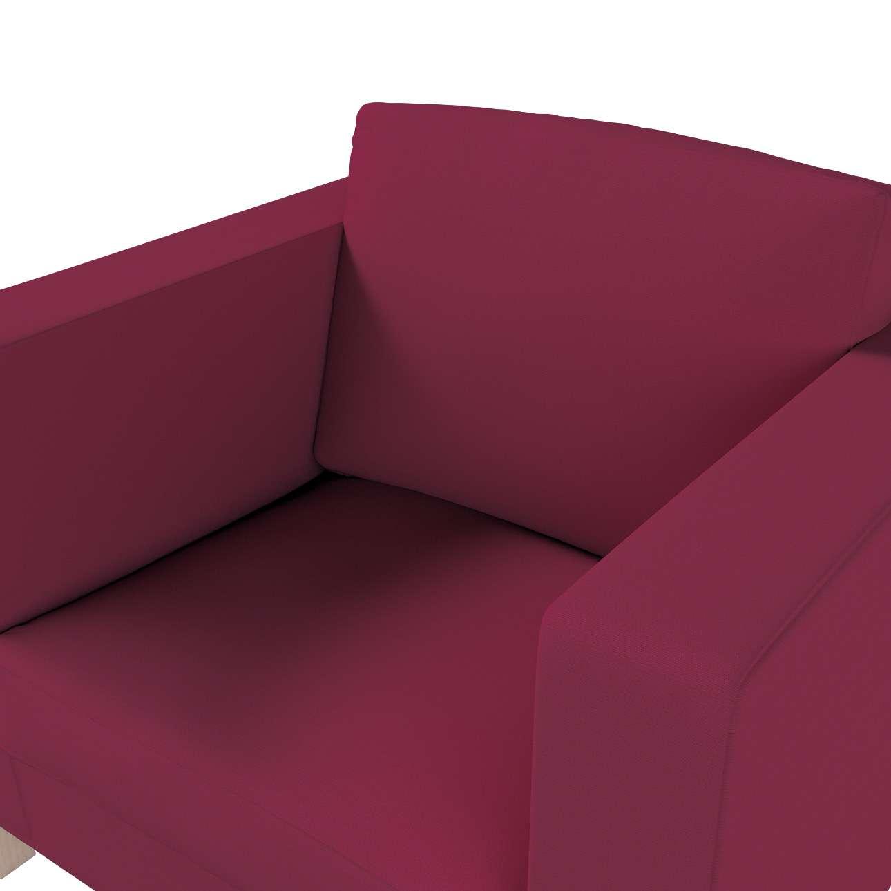 Karlanda fotelhuzat rövid a kollekcióból Cotton Panama Bútorszövet, Dekoranyag: 702-32