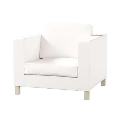 Karlanda betræk lænestol, kort fra kollektionen Cotton Panama, Stof: 702-34
