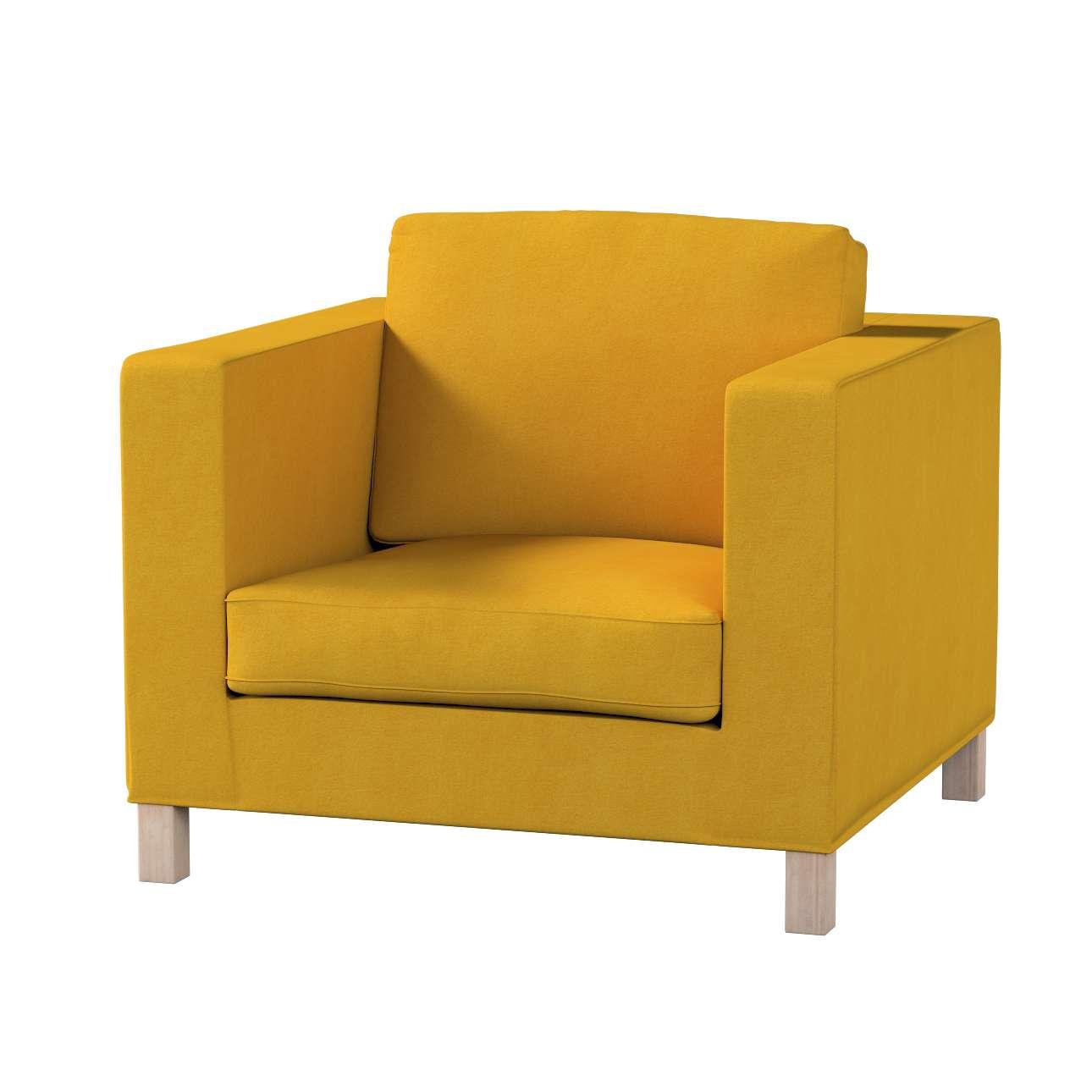 Pokrowiec na fotel Karlanda, krótki w kolekcji Etna , tkanina: 705-04
