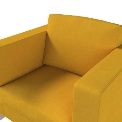 Pokrowiec na fotel Karlanda, krótki w kolekcji Etna, tkanina: 705-04