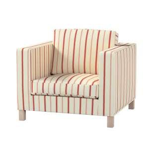 Pokrowiec na fotel Karlanda, krótki fotel Karlanda w kolekcji Avinon, tkanina: 129-15