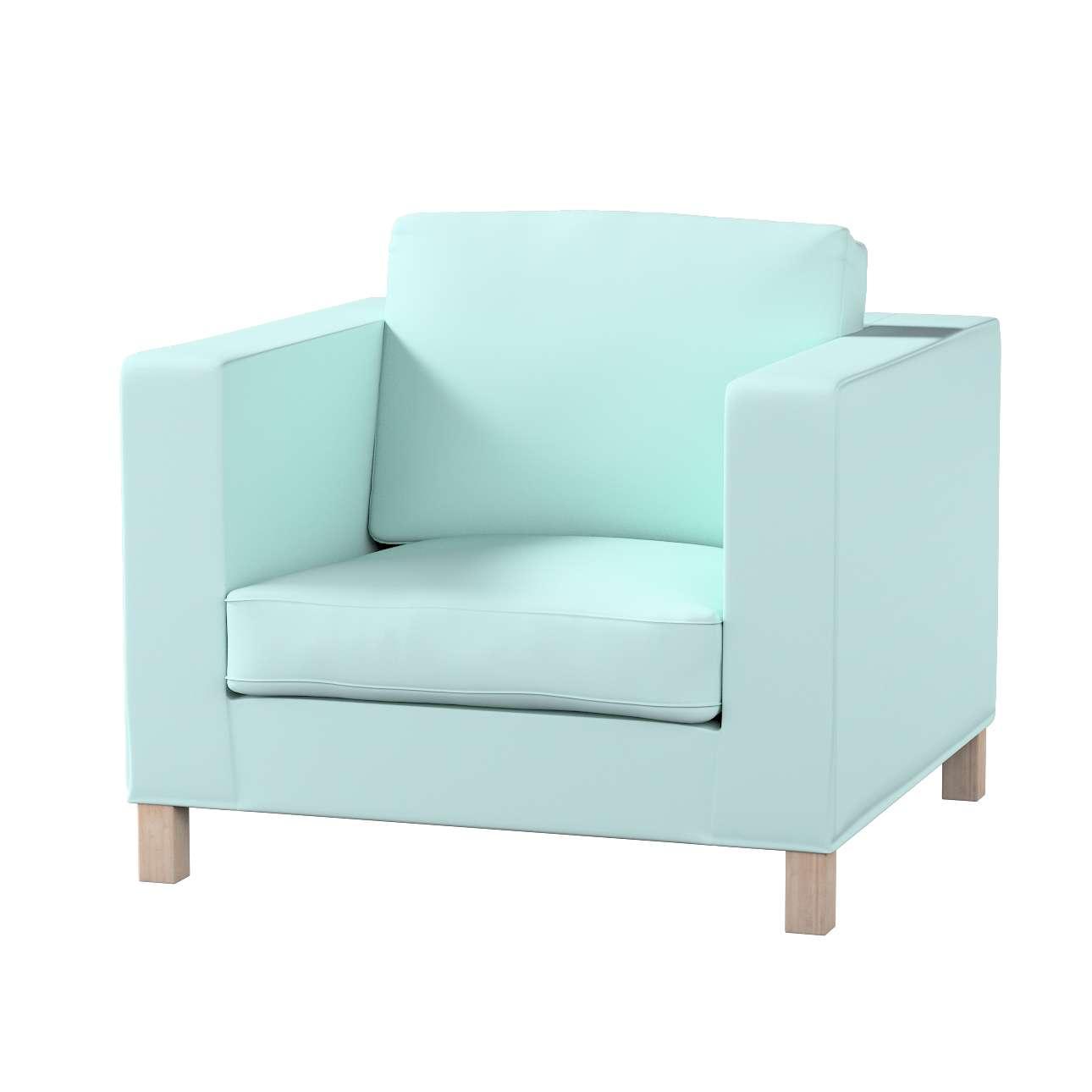 Karlanda fotelhuzat rövid a kollekcióból Cotton Panama Bútorszövet, Dekoranyag: 702-10