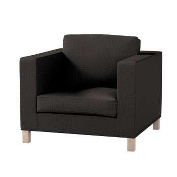 Pokrowiec na fotel Karlanda, krótki fotel Karlanda w kolekcji Vintage, tkanina: 702-36