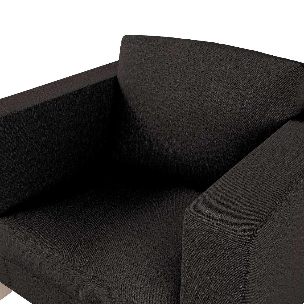 Potah na křesko IKEA Karlanda, krátký v kolekci Etna, látka: 702-36