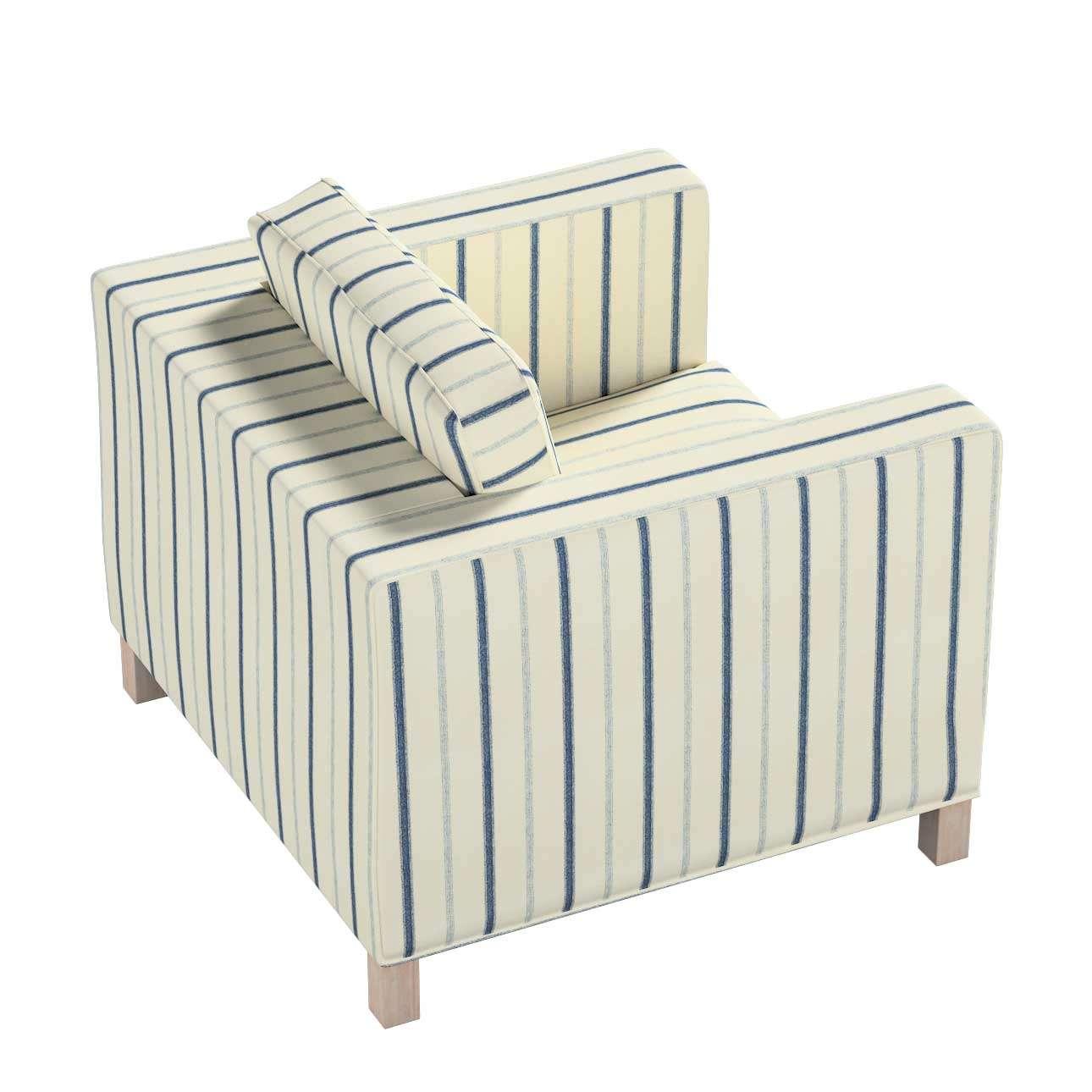 Pokrowiec na fotel Karlanda, krótki w kolekcji Avinon, tkanina: 129-66