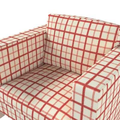 Pokrowiec na fotel Karlanda, krótki w kolekcji Avinon, tkanina: 131-15