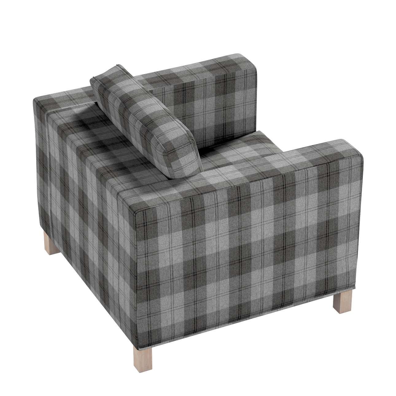 Pokrowiec na fotel Karlanda, krótki w kolekcji Edinburgh, tkanina: 115-75