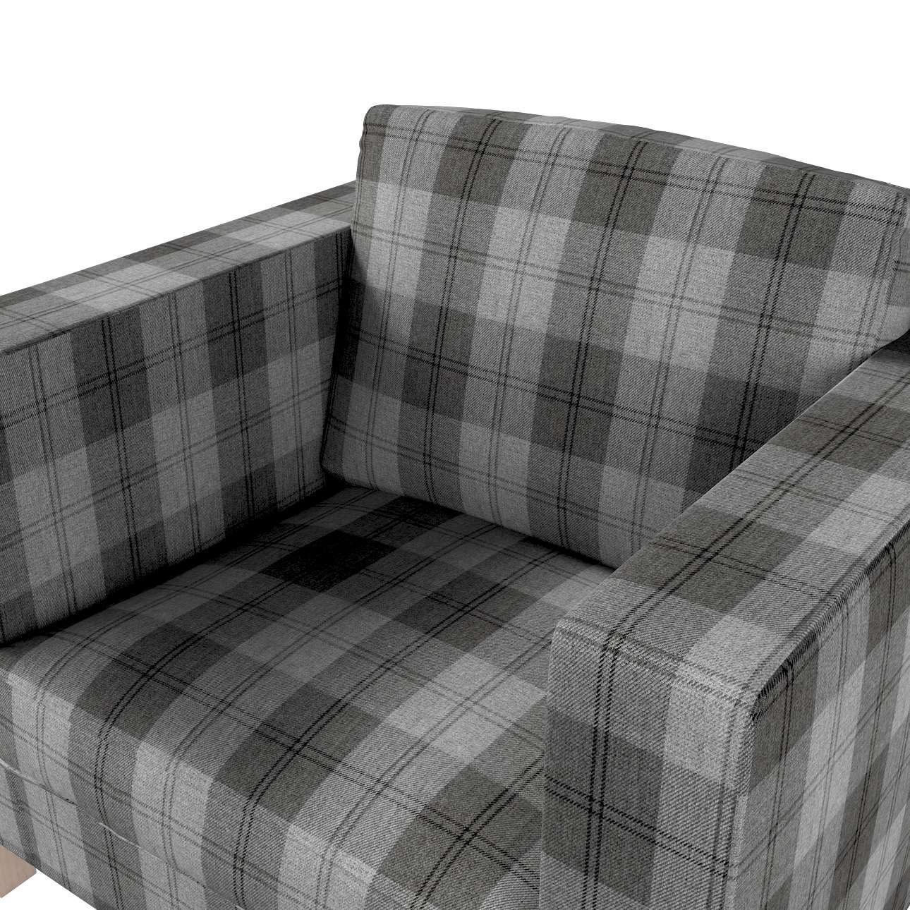 Karlanda fotelhuzat rövid a kollekcióból Edinburgh Bútorszövet, Dekoranyag: 115-75