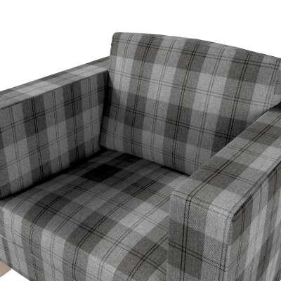 Karlanda betræk lænestol, kort fra kollektionen Edinburgh, Stof: 115-75