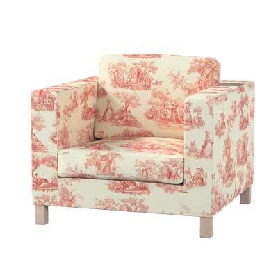 Pokrowiec na fotel Karlanda, krótki w kolekcji Avinon, tkanina: 132-15