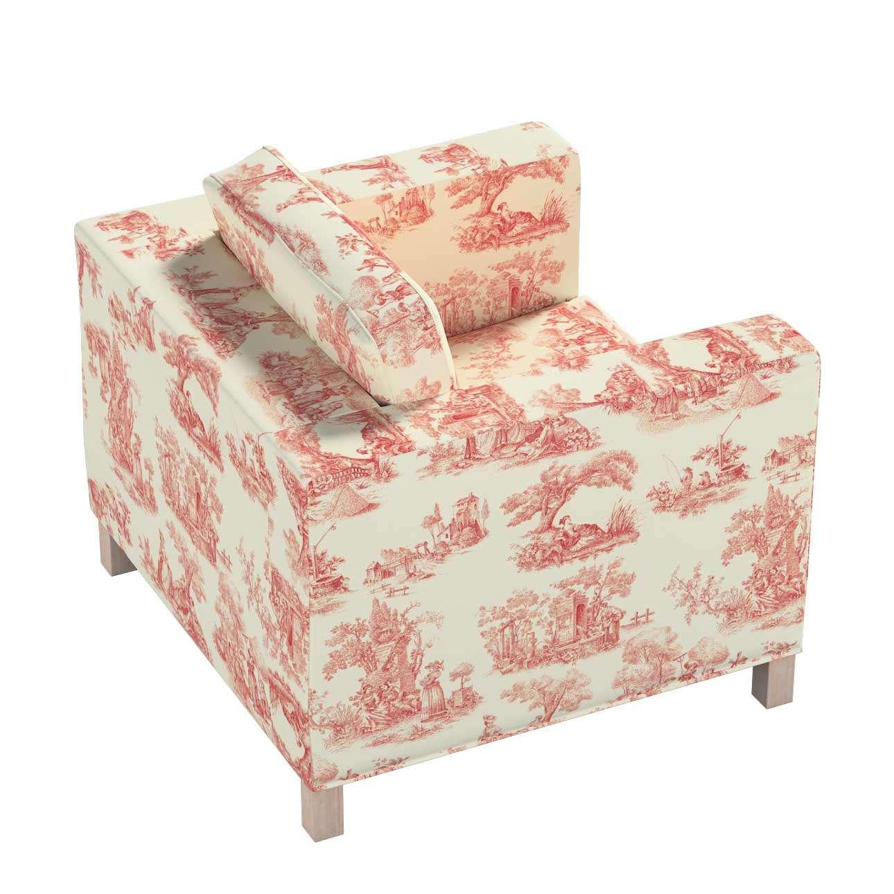 Karlanda päällinen nojatuoli, lyhyt mallistosta Avinon, Kangas: 132-15