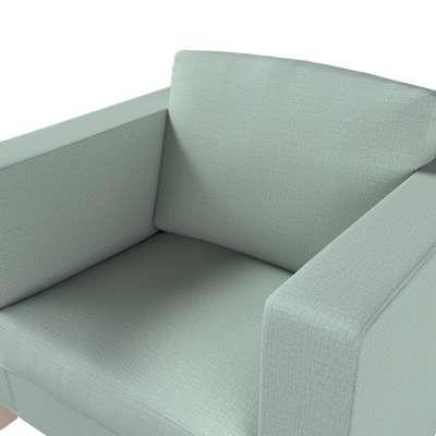 Pokrowiec na fotel Karlanda, krótki w kolekcji Living II, tkanina: 160-86