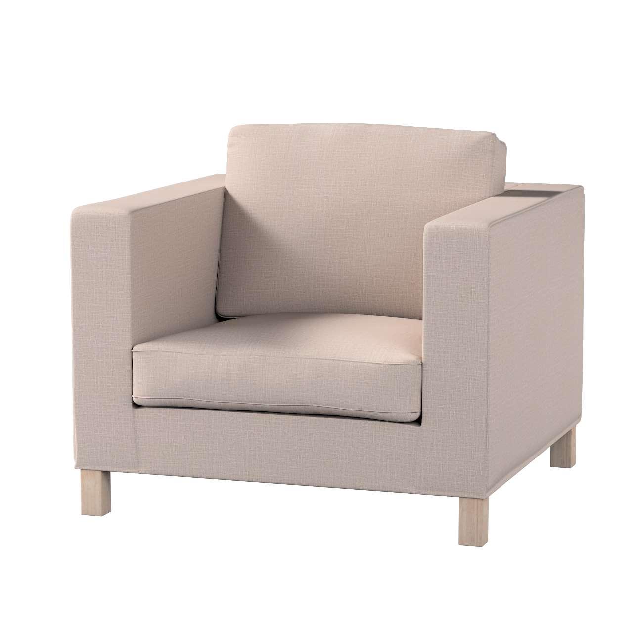 Potah na křesko IKEA Karlanda, krátký v kolekci Living II, látka: 160-85