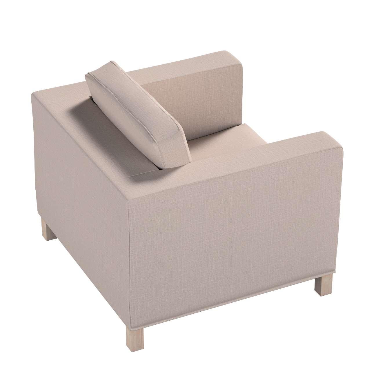 Pokrowiec na fotel Karlanda, krótki w kolekcji Living II, tkanina: 160-85
