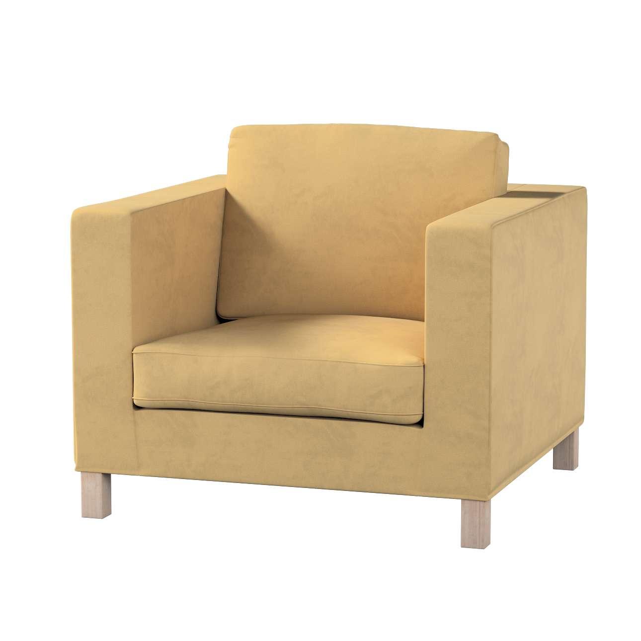 Potah na křesko IKEA Karlanda, krátký v kolekci Living II, látka: 160-93