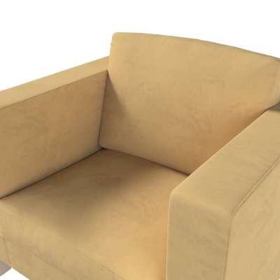 Pokrowiec na fotel Karlanda, krótki w kolekcji Living, tkanina: 160-93