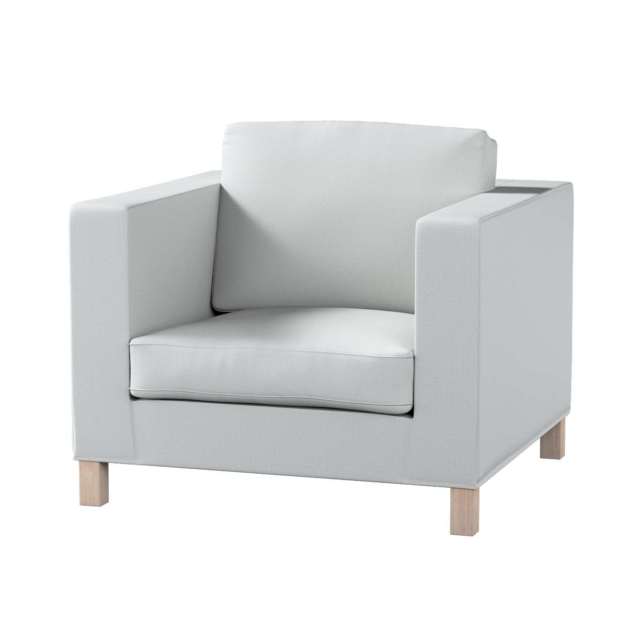 Potah na křesko IKEA Karlanda, krátký v kolekci Living II, látka: 161-18