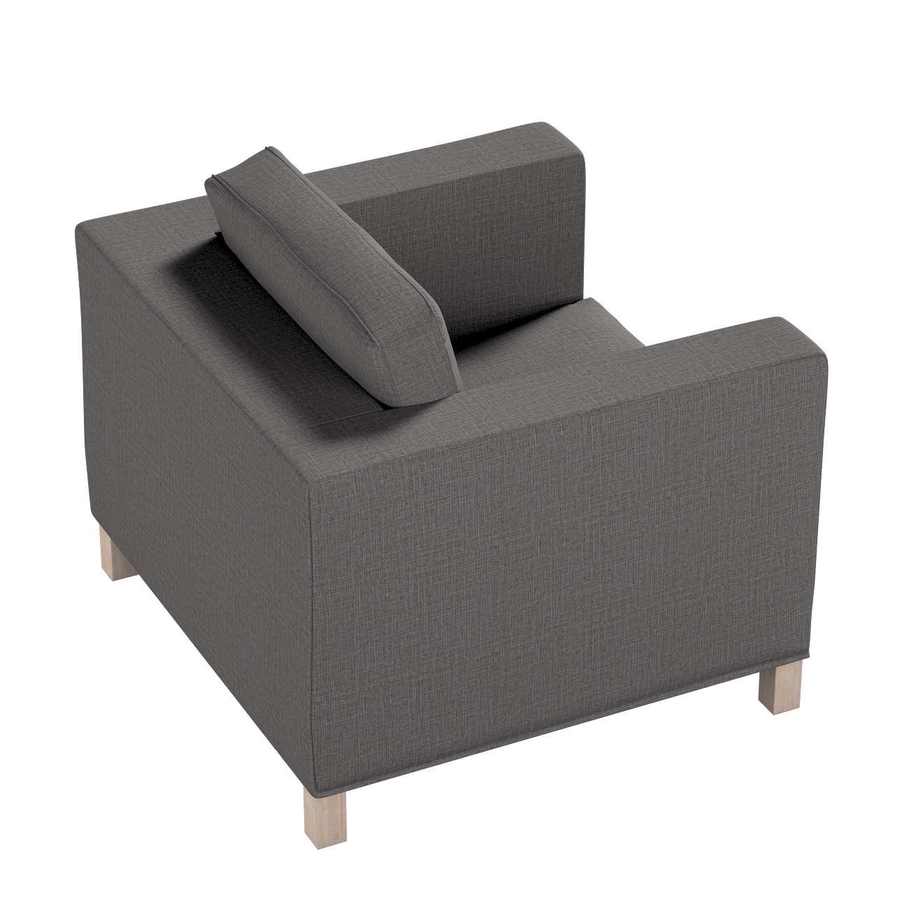 Pokrowiec na fotel Karlanda, krótki w kolekcji Living II, tkanina: 161-16