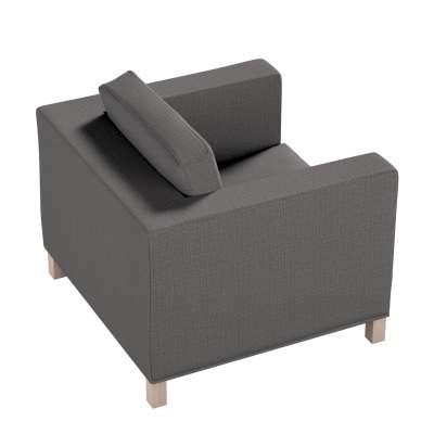 Pokrowiec na fotel Karlanda, krótki w kolekcji Living, tkanina: 161-16