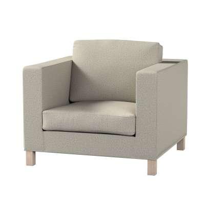Pokrowiec na fotel Karlanda, krótki w kolekcji Madrid, tkanina: 161-23