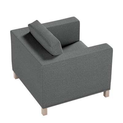 Pokrowiec na fotel Karlanda, krótki w kolekcji Madrid, tkanina: 161-24