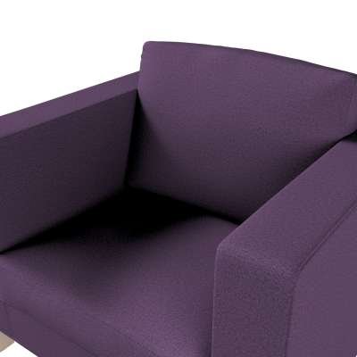Pokrowiec na fotel Karlanda, krótki w kolekcji Etna, tkanina: 161-27
