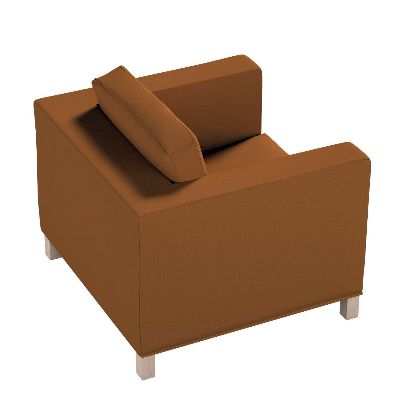 Pokrowiec na fotel Karlanda, krótki w kolekcji Living II, tkanina: 161-28