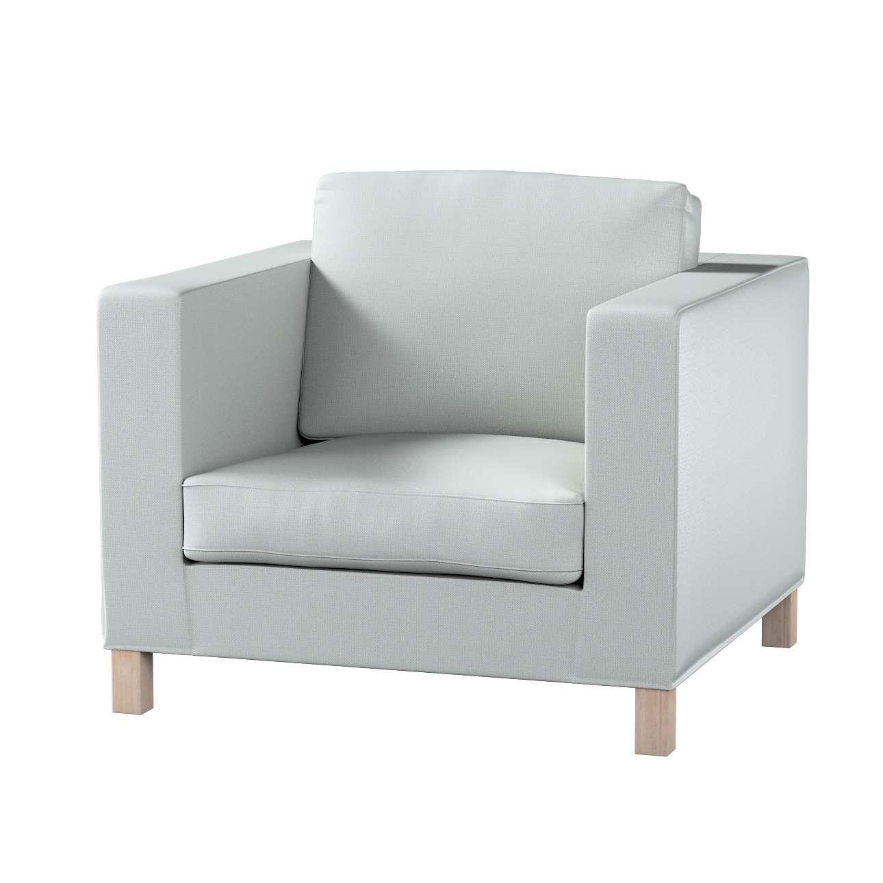 Pokrowiec na fotel Karlanda, krótki w kolekcji Bergen, tkanina: 161-72