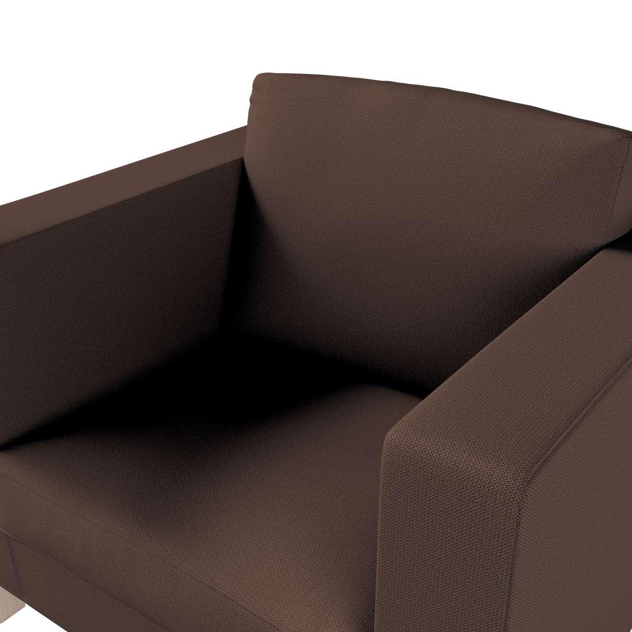 Pokrowiec na fotel Karlanda, krótki w kolekcji Bergen, tkanina: 161-73