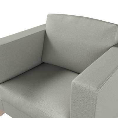Pokrowiec na fotel Karlanda, krótki w kolekcji Bergen, tkanina: 161-83