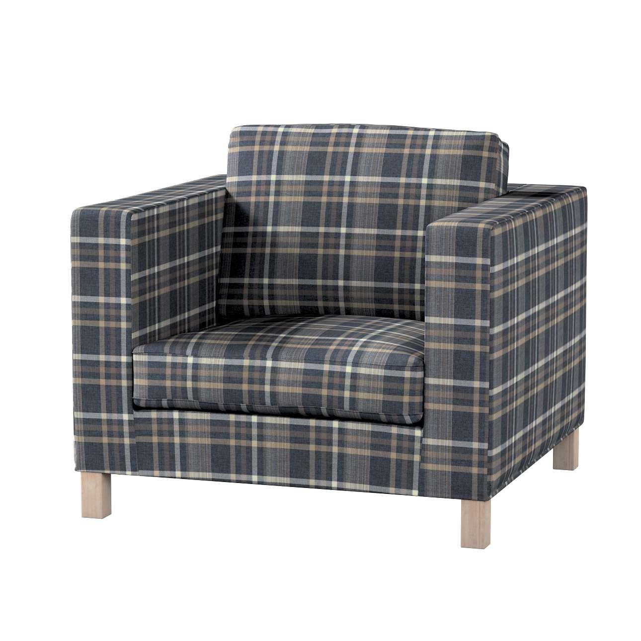 Potah na křesko IKEA Karlanda, krátký v kolekci Edinburgh, látka: 703-16