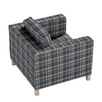 Karlanda betræk lænestol, kort fra kollektionen Edinburgh, Stof: 703-16