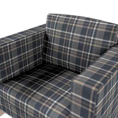 Karlanda fotelhuzat rövid a kollekcióból Edinburgh Bútorszövet, Dekoranyag: 703-16