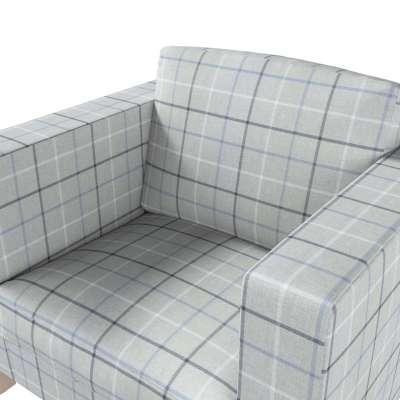 Pokrowiec na fotel Karlanda, krótki w kolekcji Edinburgh, tkanina: 703-18