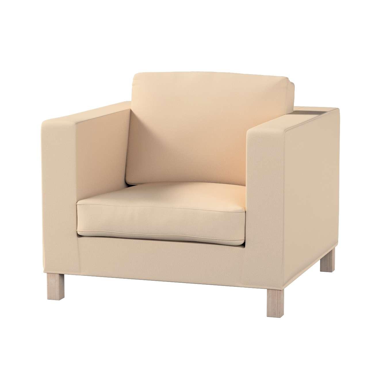 Potah na křesko IKEA Karlanda, krátký v kolekci Living, látka: 160-61