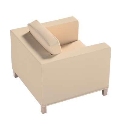 Pokrowiec na fotel Karlanda, krótki 160-61 ecru Kolekcja Living