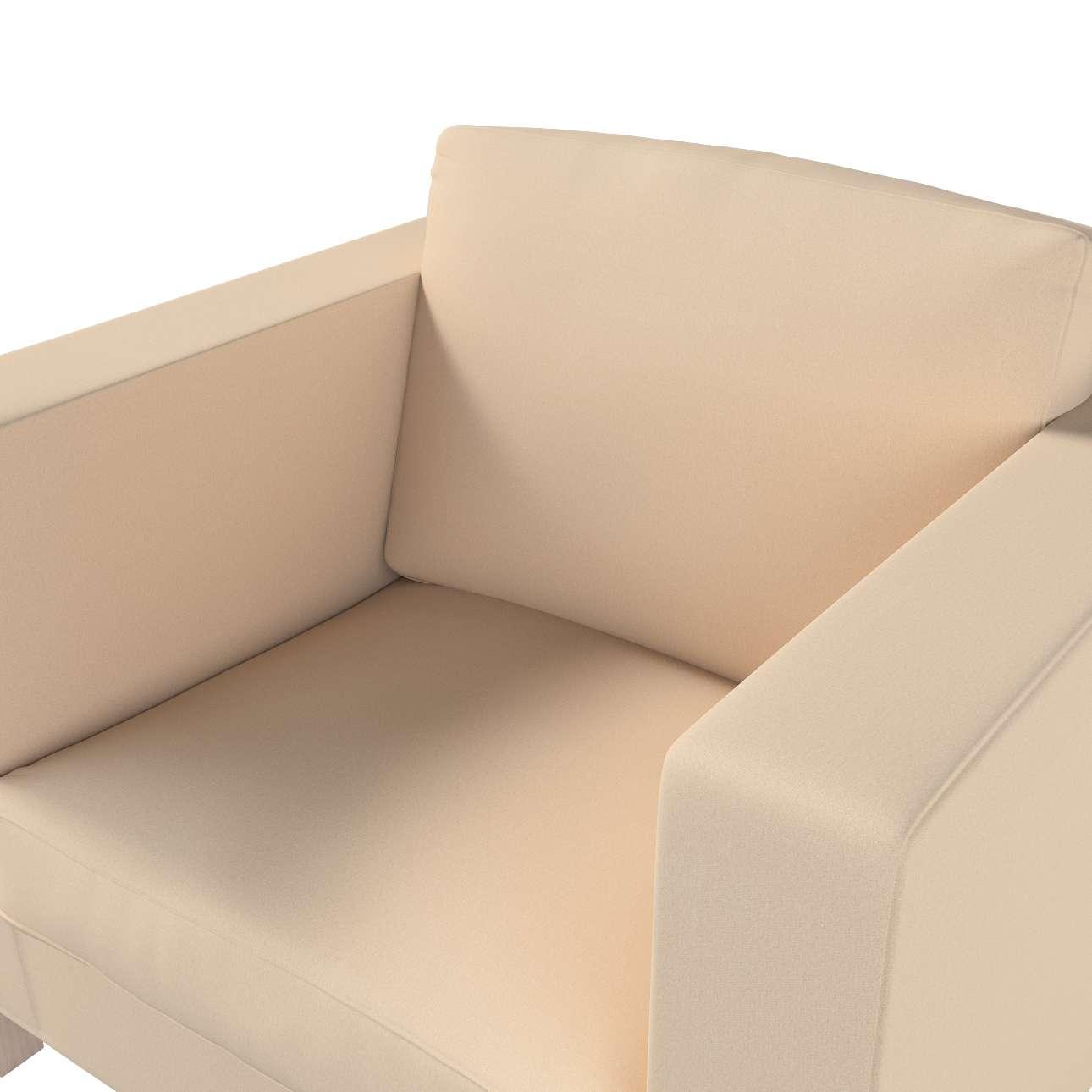 Pokrowiec na fotel Karlanda, krótki w kolekcji Living, tkanina: 160-61