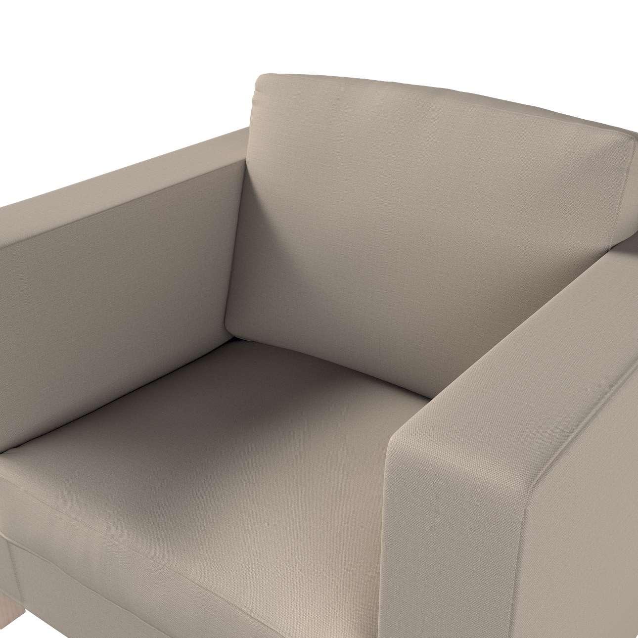 Pokrowiec na fotel Karlanda, krótki w kolekcji Living, tkanina: 161-53