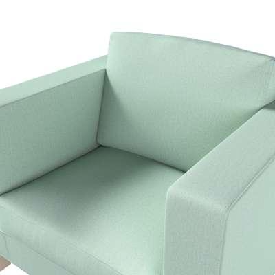 Pokrowiec na fotel Karlanda, krótki w kolekcji Living, tkanina: 161-61