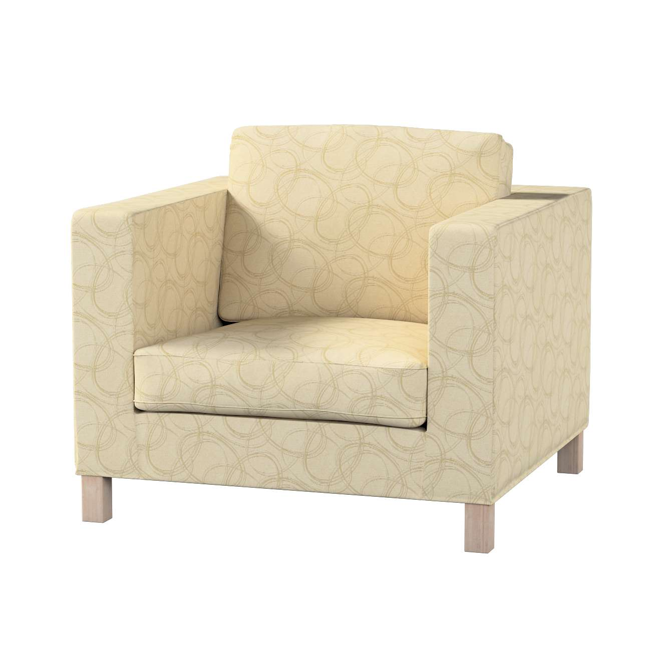 Karlanda päällinen nojatuoli, lyhyt mallistosta Living, Kangas: 161-81
