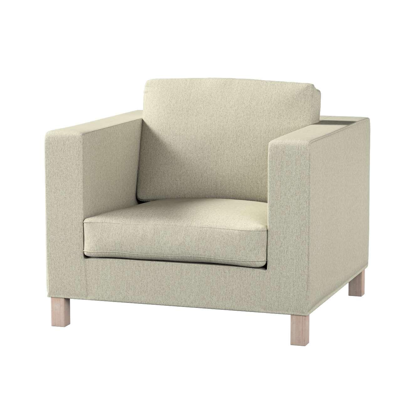 Potah na křesko IKEA Karlanda, krátký v kolekci Living, látka: 161-62