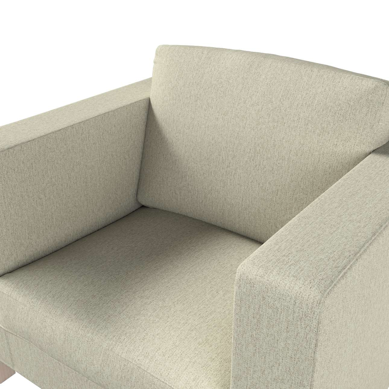Pokrowiec na fotel Karlanda, krótki w kolekcji Living, tkanina: 161-62