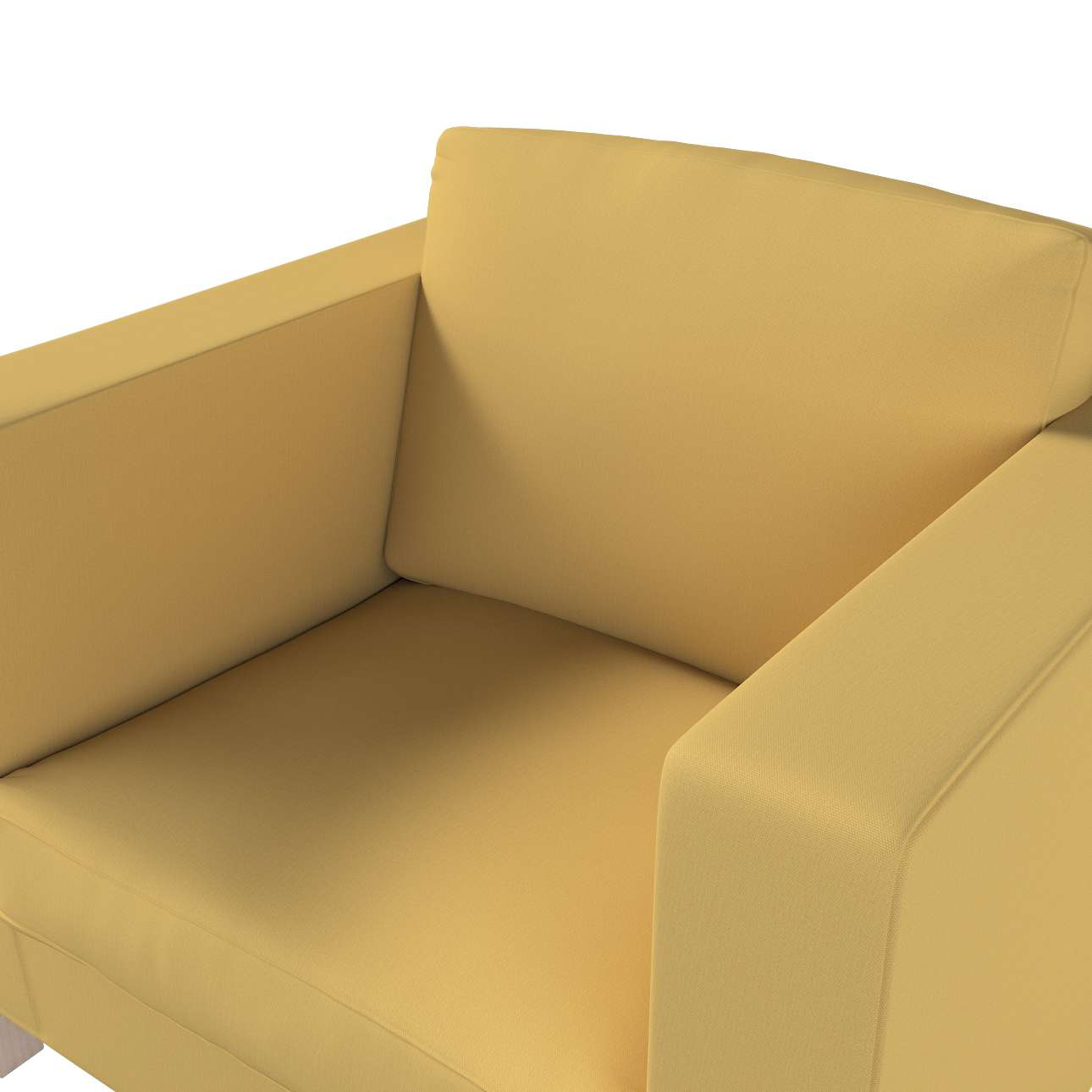 Karlanda fotelhuzat rövid a kollekcióból Cotton Panama Bútorszövet, Dekoranyag: 702-41